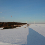 Windrad Landschaft Fotografie