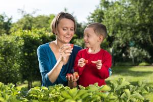 NRW_Mutter-Kind-Erdbeere_Fotograf-Vollmer