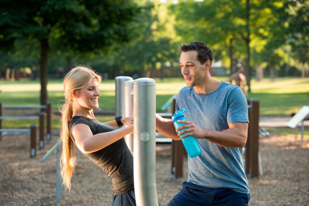 Sport im Park