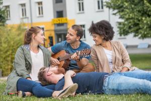 Musizieren im Park